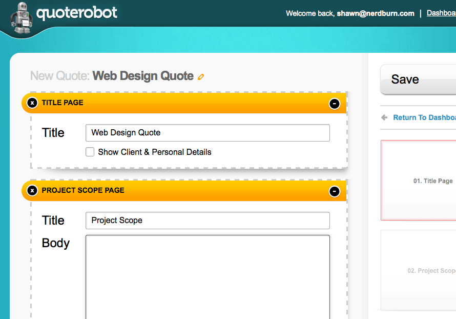 how to quote a website