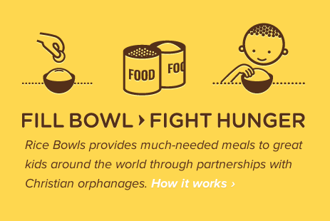 Visual Imagery from Rice Bowls | PatternTap | ZURB Library