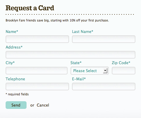 Nice Curvilinear Style for Request Form Web Design from ...